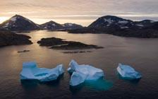 Arctic Ocean Ice Shrinks to Second Lowest Level on Record