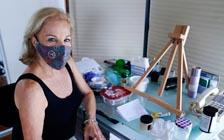 Affected by Virus, Artists Take Refuge in Work