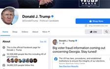 Facebook Board Upholds Trump Ban, But Demands Review of Action