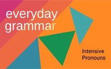 What Are Intensive Pronouns?