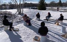 Outdoor Education Continues in the Cold